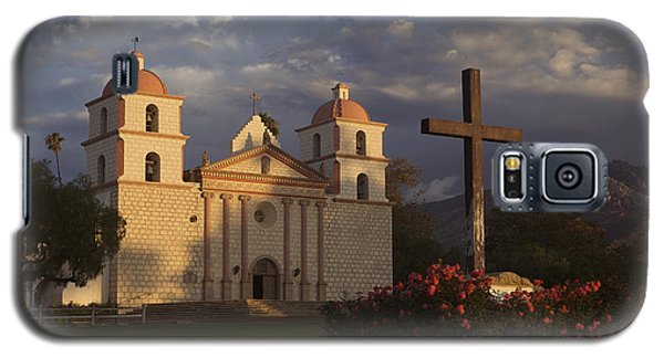 Galaxy S5 Case featuring the photograph Santa Barbara Mission Mg_6324 by David Orias