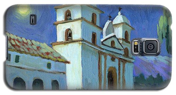Santa Barbara Mission Moonlight Galaxy S5 Case