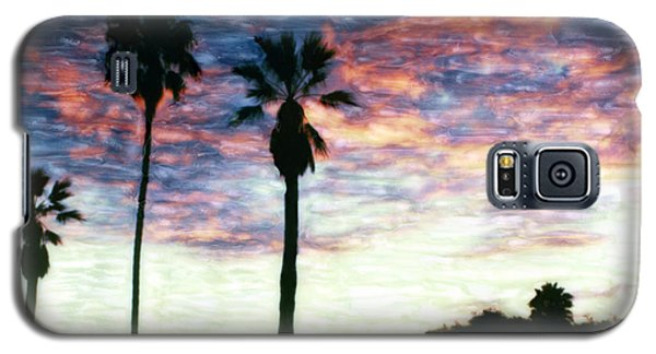 Santa Barbara Palm Sunrise Galaxy S5 Case