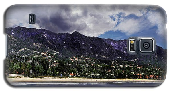 Santa Barbara Panorama Galaxy S5 Case by Danuta Bennett