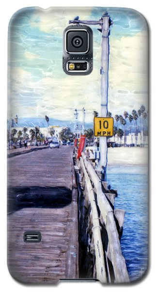 Santa Barbara Pier Galaxy S5 Case