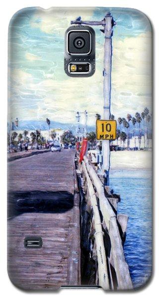 Santa Barbara Pier Galaxy S5 Case