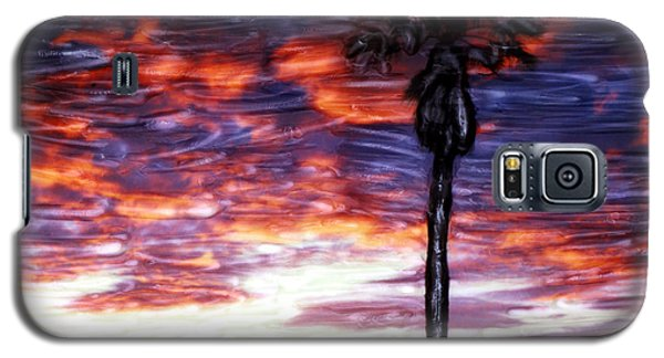 Santa Barbara Sky Fire Galaxy S5 Case