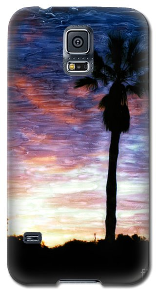Santa Barbara Sunrise Galaxy S5 Case