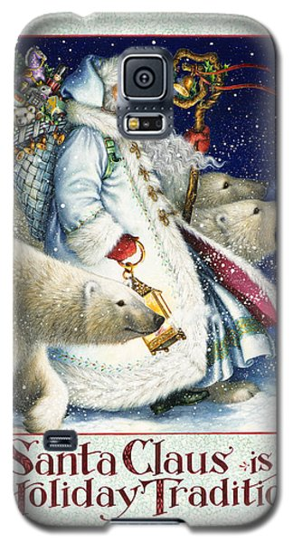Santa Claus Is A Holiday Tradition Galaxy S5 Case