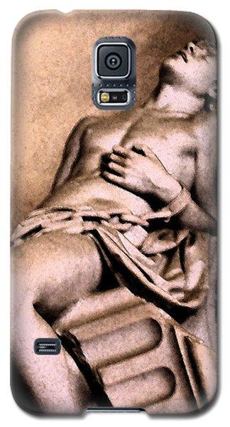 Santa Croche Sculpture Galaxy S5 Case