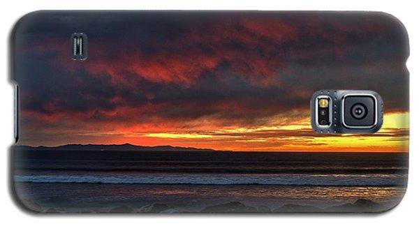Galaxy S5 Case featuring the photograph Santa Cruz Rocks by Michael Gordon