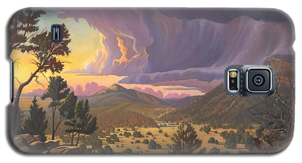 Santa Fe Baldy Galaxy S5 Case by Art James West