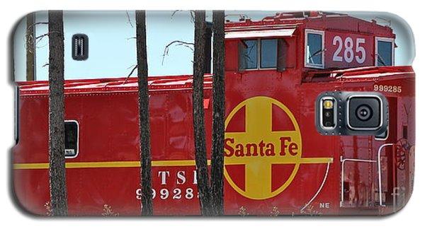 Santa Fe Caboose Galaxy S5 Case