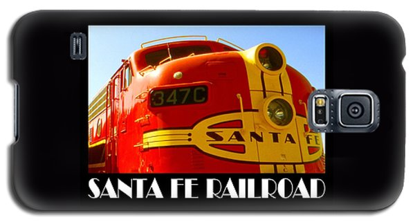 Santa Fe Railroad Color Poster Galaxy S5 Case by Art America Gallery Peter Potter