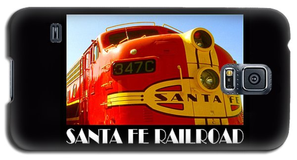 Santa Fe Railroad Color Poster Galaxy S5 Case