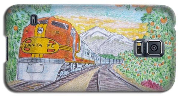 Santa Fe Super Chief Train Galaxy S5 Case by Kathy Marrs Chandler