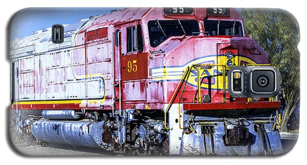 Galaxy S5 Case featuring the photograph Santa Fe Train No-95 by William Havle