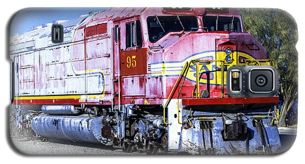 Santa Fe Train No-95 Galaxy S5 Case by William Havle