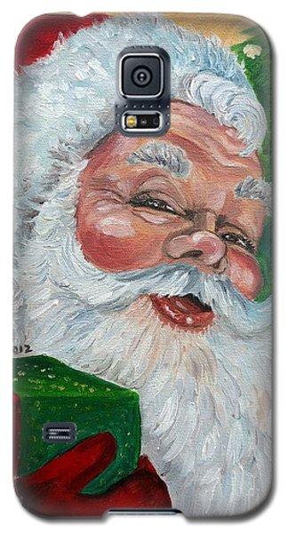 Santa Galaxy S5 Case by Julie Brugh Riffey