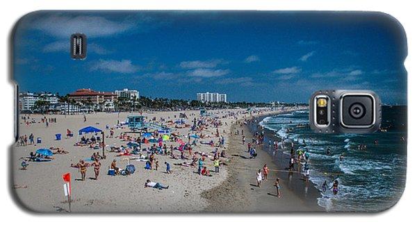 Santa Monica Beach Galaxy S5 Case by Joe Scott