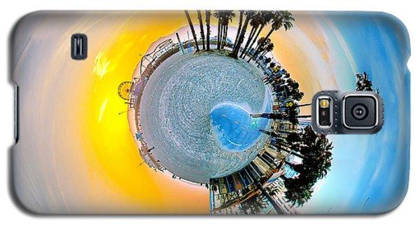 Santa Monica Pier Circagraph Galaxy S5 Case by Az Jackson