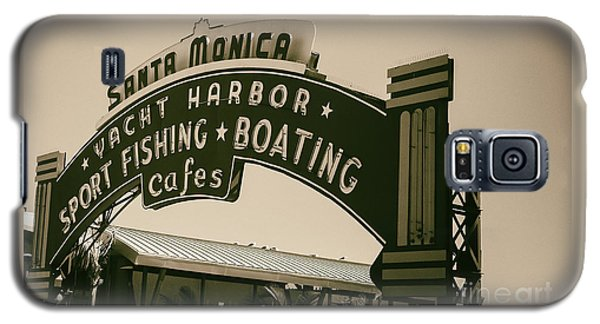 Santa Monica Pier Sign Galaxy S5 Case