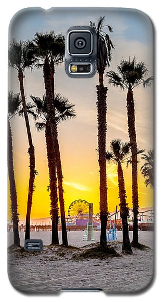 Santa Monica Sunset 2 Galaxy S5 Case by Az Jackson