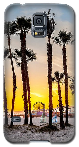 Venice Beach Galaxy S5 Case - Santa Monica Palms by Az Jackson