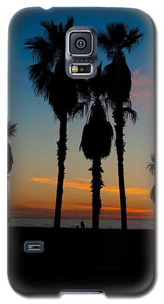 Santa Monica Sunset Galaxy S5 Case