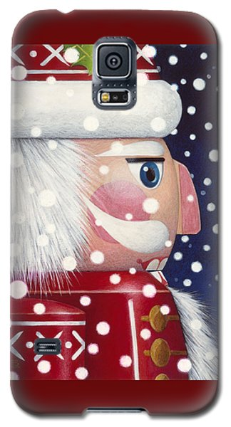 Santa Nutcracker Galaxy S5 Case
