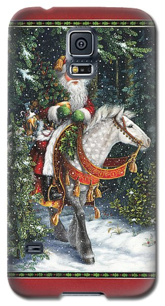 Santa Of The Northern Forest Galaxy S5 Case
