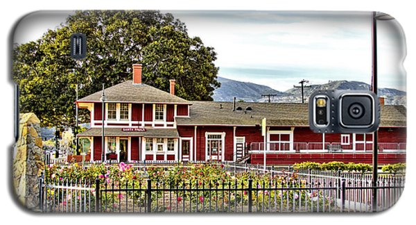 Santa Paula Train Station Galaxy S5 Case