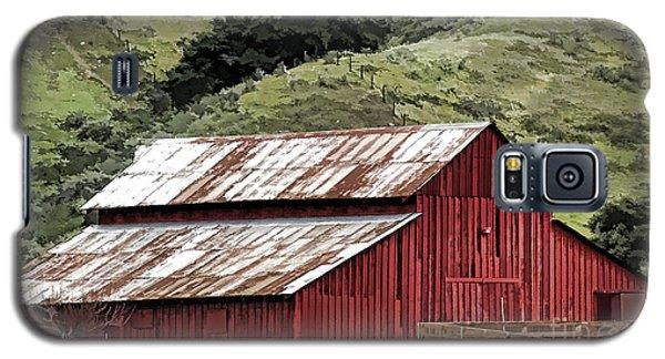 Santa Rosa Rd Barn Galaxy S5 Case