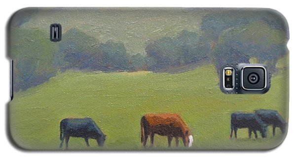 Santa Ynez Cows Galaxy S5 Case by Jennifer Boswell
