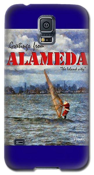 Alameda Santa's Greetings Galaxy S5 Case