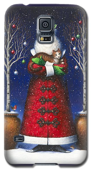 Santa's Cat Galaxy S5 Case
