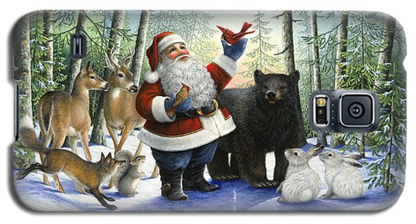 Santa's Christmas Morning Galaxy S5 Case