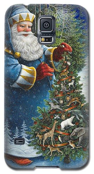 Santa's Christmas Tree Galaxy S5 Case