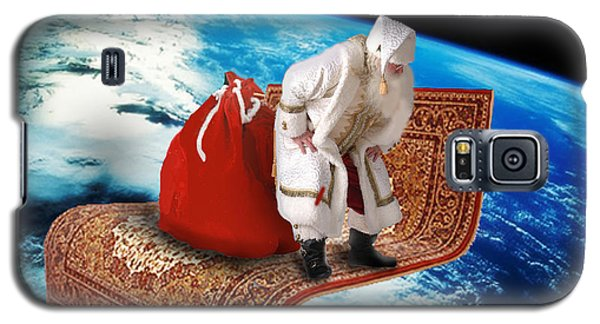 Santa's Flying Carpet Galaxy S5 Case