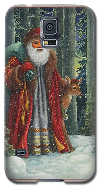 Santa's Journey Galaxy S5 Case
