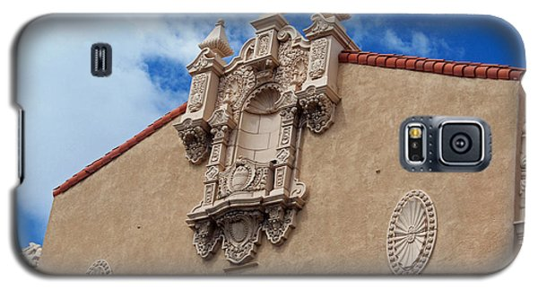 Galaxy S5 Case featuring the photograph Sante Fe Theatre by Sylvia Thornton