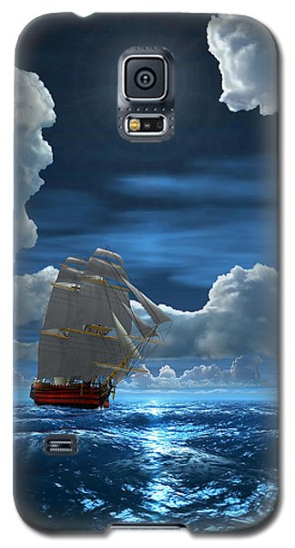 Santisima Trinida In The Moonlight 2 Galaxy S5 Case