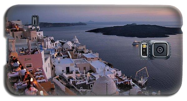 Santorini At Dusk Galaxy S5 Case