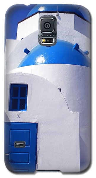 Galaxy S5 Case featuring the photograph Santorini Church  by Colette V Hera  Guggenheim