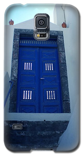 Santorini Door  To Heaven  Galaxy S5 Case