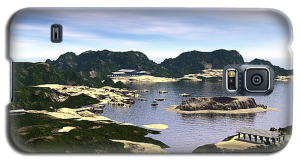 Santorini Galaxy S5 Case by John Pangia