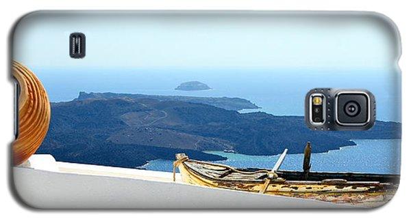 Santorini Rooftop Galaxy S5 Case