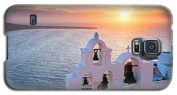 Santorini Sunset Galaxy S5 Case