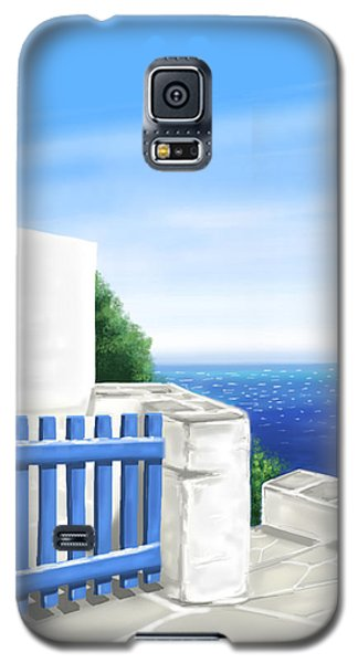 Santorini Galaxy S5 Case by Veronica Minozzi