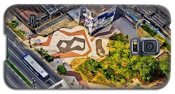 Sao Paulo Downtown - Geometry Of Public Spaces Galaxy S5 Case