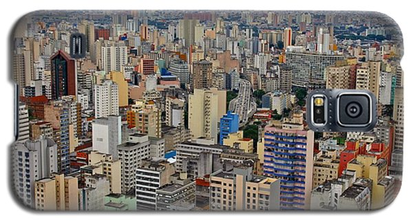 Galaxy S5 Case featuring the photograph Sao Paulo by Henry Kowalski