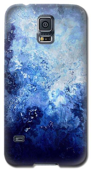Sapphire Dream - Abstract Art Galaxy S5 Case