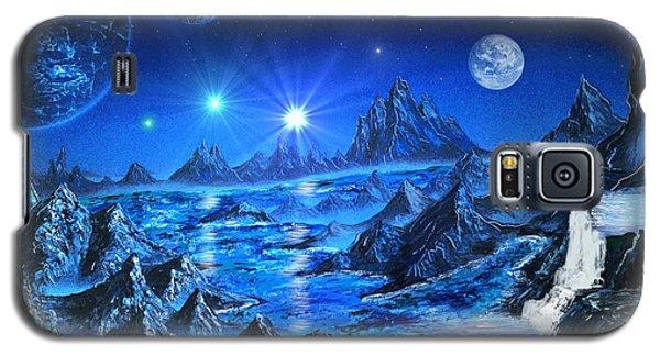 Sapphire Planet Galaxy S5 Case