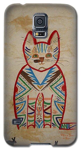 Sarah's Cat Galaxy S5 Case